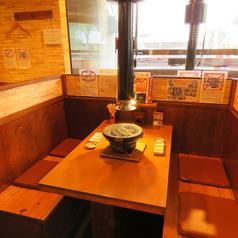 半個室風のボックス席をご用意♪ご家族連れも安心してお食事をお楽しみ頂けます♪