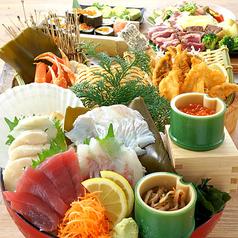 北海道 増毛町魚鮮水産 すすきの第3グリーンビル店のコース写真