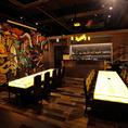 シックな空間は大人飲み会に。深夜5:00まで営業しております。