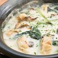 料理メニュー写真牡蠣とほうれん草のグラタン
