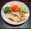 料理メニュー写真鶏と豚のラーメンお好み丼セット