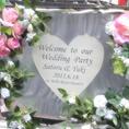 wedding二次会☆ウェルカムボードを2枚無料作成します!