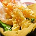 料理メニュー写真4種類から選べるプリプリ海老マヨ和え