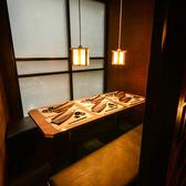 《隠れ家個室-4~6名様-》女子会や合コンなどのご利用におすすめ!当店自慢の鍋料理を囲んで賑やかなご宴会をお楽しみください。