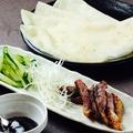 料理メニュー写真北京ダック鳥とも風