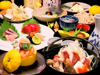 和食の匠による見た目も鮮やかなお料理の数々。。。