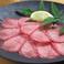 料理メニュー写真特選牛 和牛タン(しゃぶしゃぶorすき焼き)