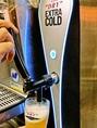 【エキストラコールド導入店】限られた店舗でしか飲むことができない。最先端の温度管理システムと専用サーバーが生んだ、氷点下(-2℃~0℃)のスーパードライをお楽しみください。