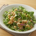 料理メニュー写真夕採れレタスとロメインレタスのグリーンサラダ