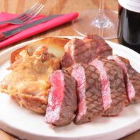 自慢のお肉とワインをお楽しみください。