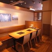 優しい照明の空間はカップルや女子会にもおすすめ◎!梅田茶屋町・中津エリアでしゃぶしゃぶ食べ放題・飲み放題なら温野菜におまかせ