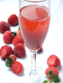 つぶつぶ苺&シャンパン