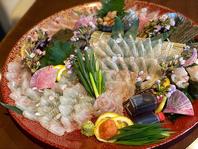 鮮度抜群!旬な食材を利用した海鮮料理を堪能