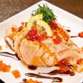 料理メニュー写真大トロサーモンの炙り寿司