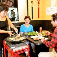 本場の韓国料理をゆっくりご堪能いただけます。
