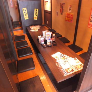炭火居酒屋 炎 北1条ユニゾイン札幌店の雰囲気1