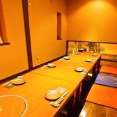 【こだわり3】個室&半個室が多彩!接待・女子会・歓迎会・会社宴会など各種宴会にも◎