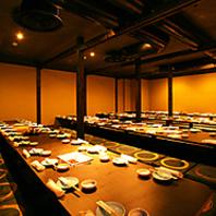 [名古屋駅・名駅]宴会は最大72名様OKの完全個室居酒屋