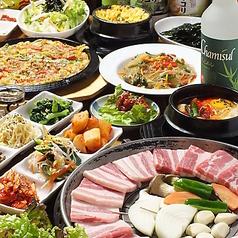 韓国家庭料理 ヌナの家のコース写真