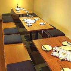 2F テーブル