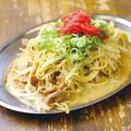 料理メニュー写真中州焼きラーメン