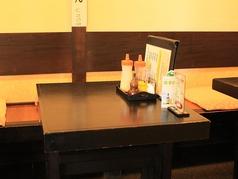 2人掛けテーブル席