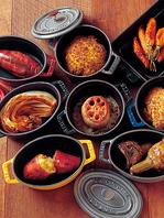 充実のココット鍋料理!!