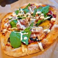 イタリア産ハムのピッツァ