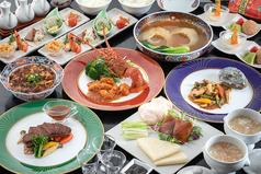 四川飯店 岩国のコース写真