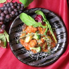 能登豚のミートボール旬野菜のトマト煮込み