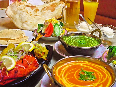 インド料理 ガンガジ