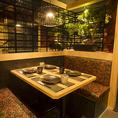 和モダン空間でくつろぎの時間を楽しめます♪横浜・居酒屋・個室・焼き鳥・飲み放題は鶏の久兵衛で!