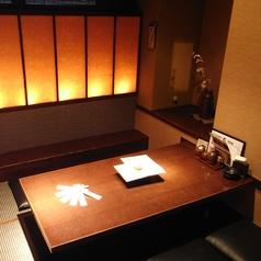 人気の個室はお早めのご予約を。2~6名様までの個室もご用意しております!2人のお客様には半個室のお席をどうぞ!【居酒屋 新松田 飲み放題 個室 飲み放題】