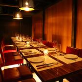 ¥個室の仕切りは取り外しが可能なため、20名様の個室利用もOK!宴会のご利用にもおすすめの空間です。