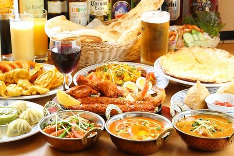 ボリュームたっぷり、本場の味が楽しめる美味しいインド料理店!