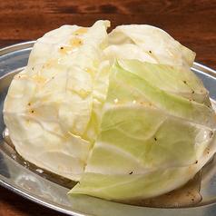 料理メニュー写真バリバリ塩キャベツ