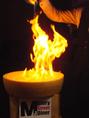 驚きの炎のパフォーマンスをお見せいたします