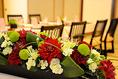 ご家族でお祝い、記念日を祝う食事会のプレゼントの場としてもご利用いただいております。