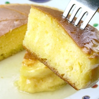 甘い〆は「元祖 蜂ヤのホットケーキ!」