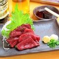 料理メニュー写真【限定】馬刺し