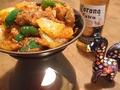 料理メニュー写真カライチキン(チキン+玉ねぎ+ピーマン)