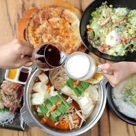 【2h飲放付】食べ放題付きコースを三河安城でご賞味♪