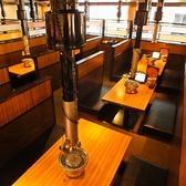 落ち着ける雰囲気のテーブル席☆(写真は系列店)