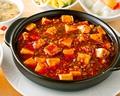 料理メニュー写真麻婆豆腐/青唐辛子と干し豆腐炒め