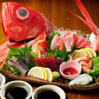 『旬の魚介と職人技!』