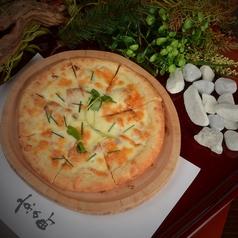 国産豚角煮ピザ