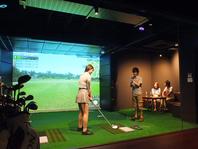 初心者でも楽しめるシュミレーションゴルフ♪