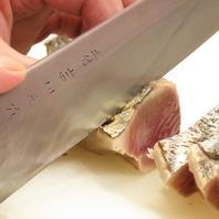 高知から直接仕入れる素材を熟練の料理長が捌く!