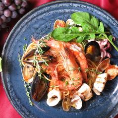 地物鮮魚のラグーソース
