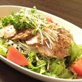 料理メニュー写真焼き豚サラダ
